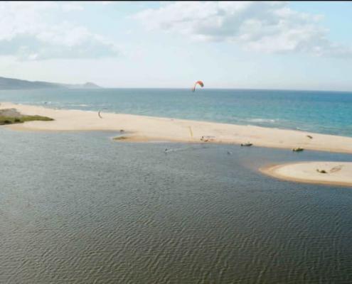 kitesurfen lernen, kiteschule, Flachwasserlagune